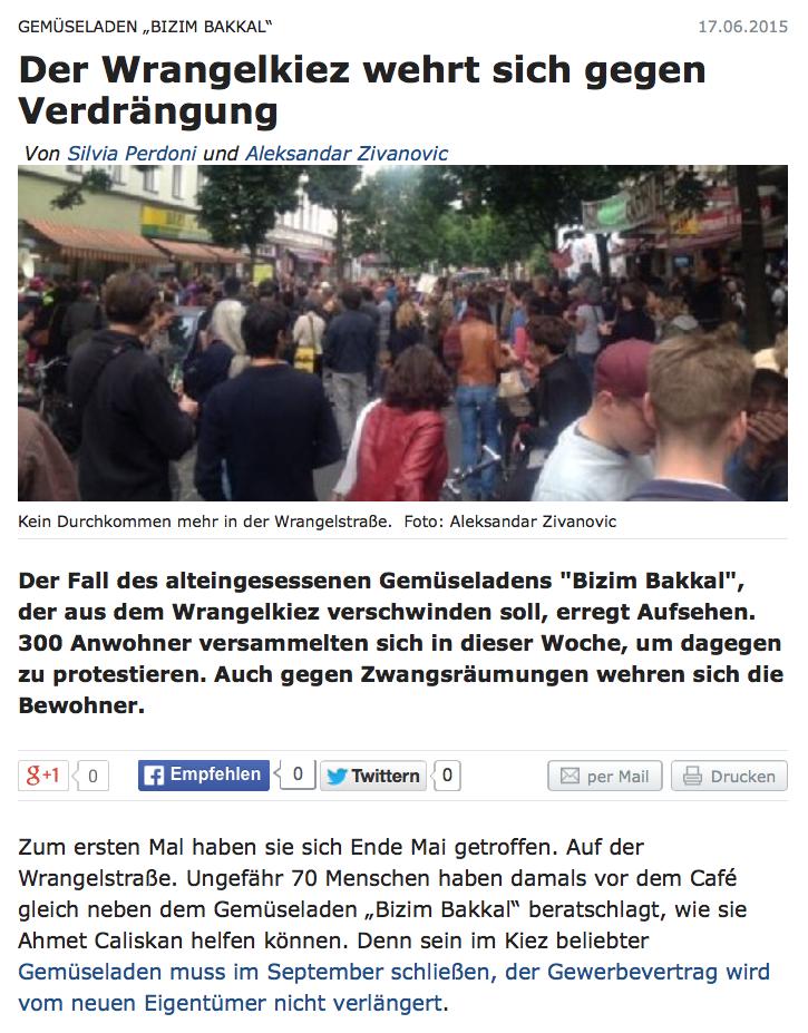 Berliner Zeitung vom 17.06.2015