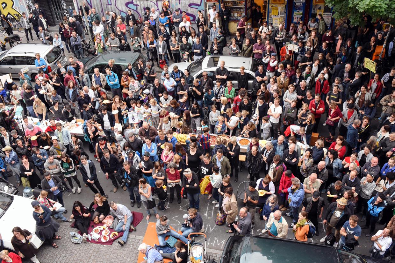Bizim Kiez Versammlung und Nachbarschafts-Picknick vom 17. Juni 2015 (Foto: Anna Simone Wallinger)