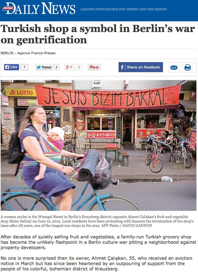 Hurriyet Daily News 18. 06. 2015
