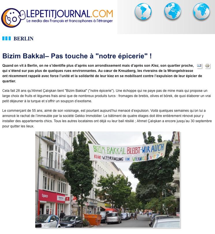 Screenshot aus dem Online-Magazin Lepetitjournal.com