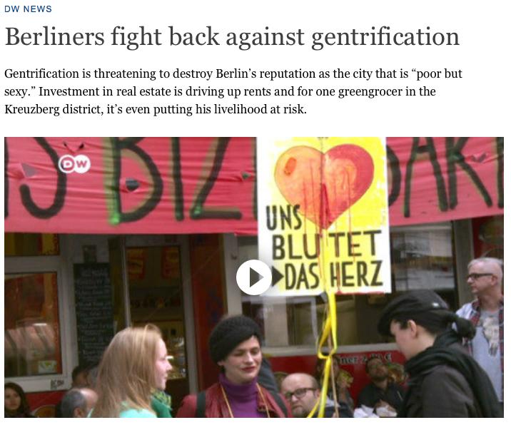 Screenshot aus dem Online-Auftritt der Deutschen Welle