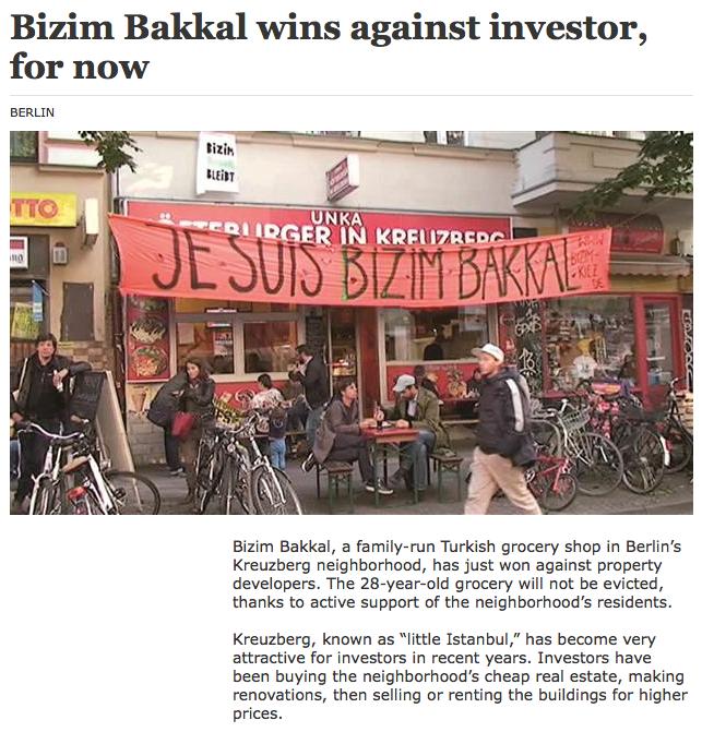 Screenshot aus dem Online-Auftritt der Hürriyet Daily News
