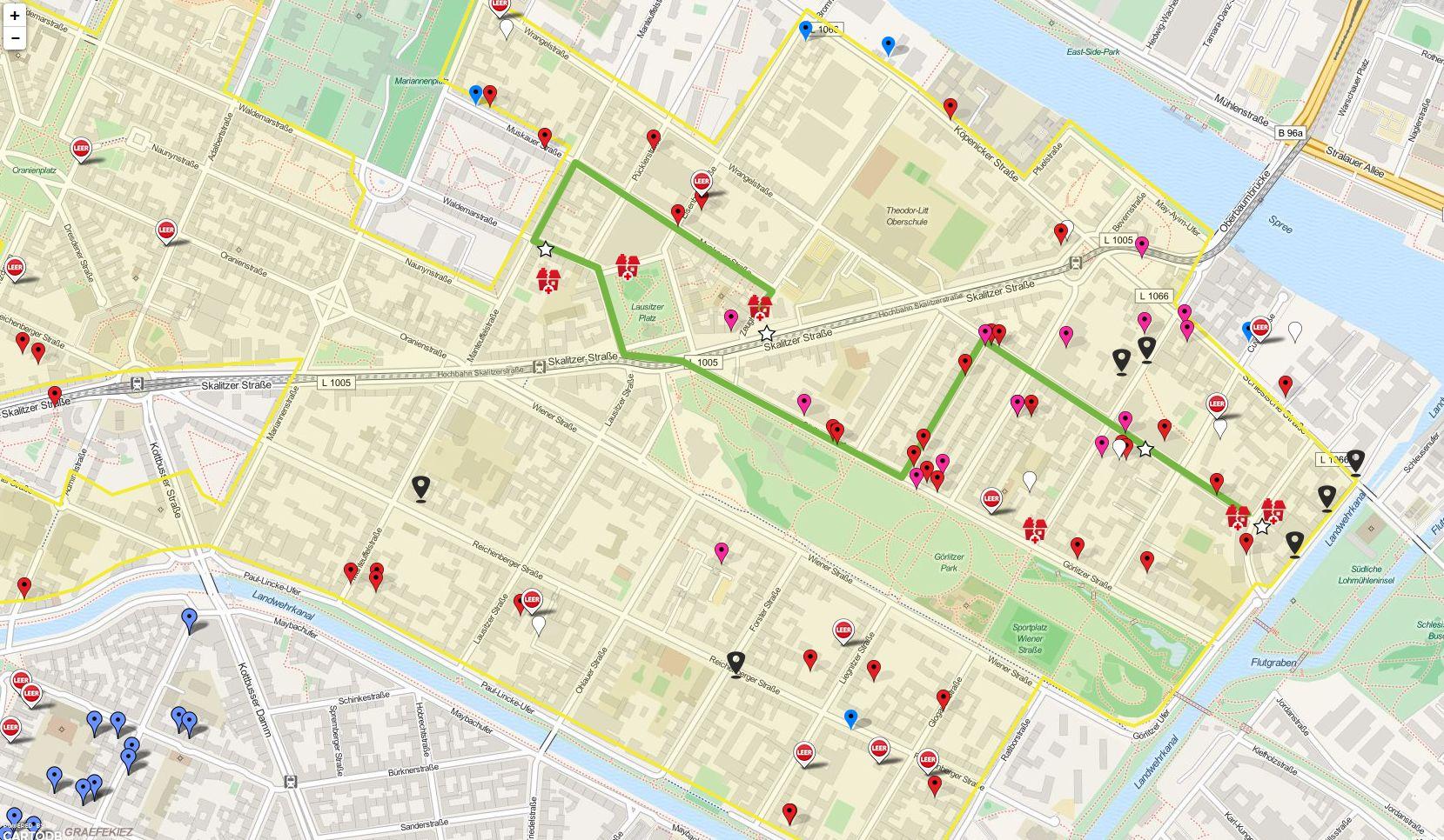 Laternenumzug-Route- 'StadtPolitikPlan v0_1' - wirbleibenalle_org_map
