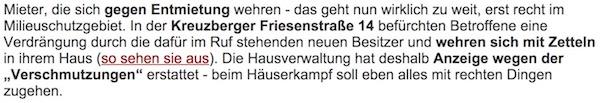 bow gmbh entmietung in kreuzberg tagesspiegel anzeige gegen mieter friesenstr 14. Black Bedroom Furniture Sets. Home Design Ideas