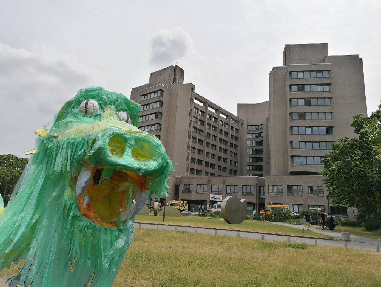 Ein Kiez für sein Krankenhaus: Bizim Kiez an der Seite der Beschäftigten im Urban